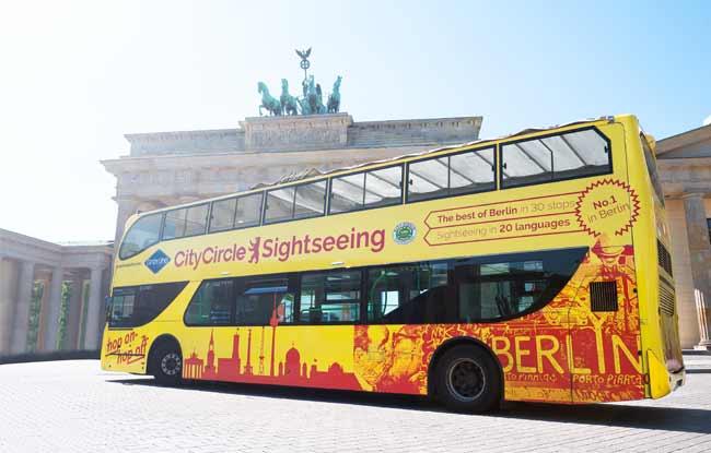 Stadtrundfahrt Berlin YELLOW TOUR